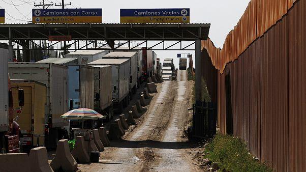 Trump amenaza a México con cerrar la frontera la próxima semana