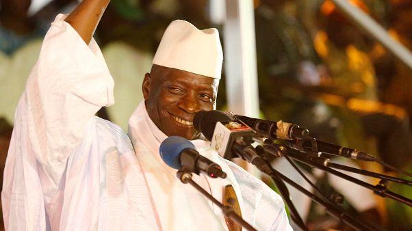 رئيس غامبيا السابق يحيى جامع