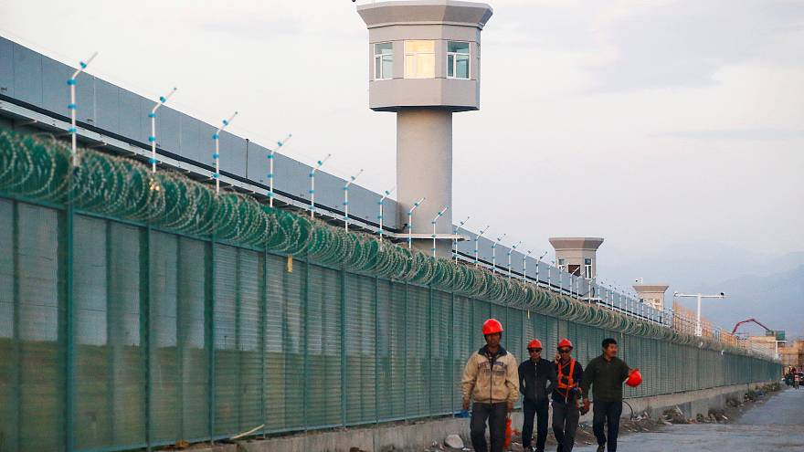 Çin'de bir eğitim kampı