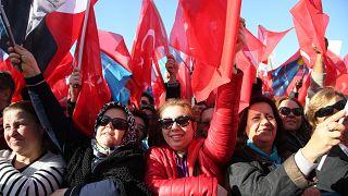 CHP ve İYİ Parti Manisa'da ortak miting düzenledi