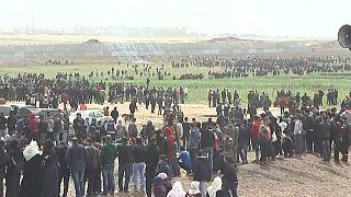 """Gaza am """"Tag des Bodens"""": Drei Tote, 300 Verletzte bei Protesten"""