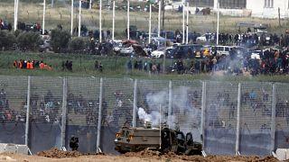Gazze Şeridi: 'Toprak Günü' protestolarında bir Filistinli öldü