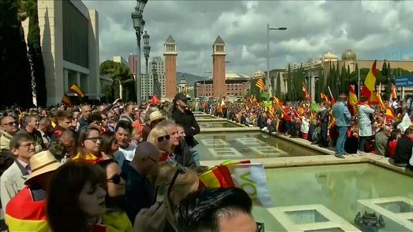 Barcellona: tensioni per il corteo dei sovranisti di Vox