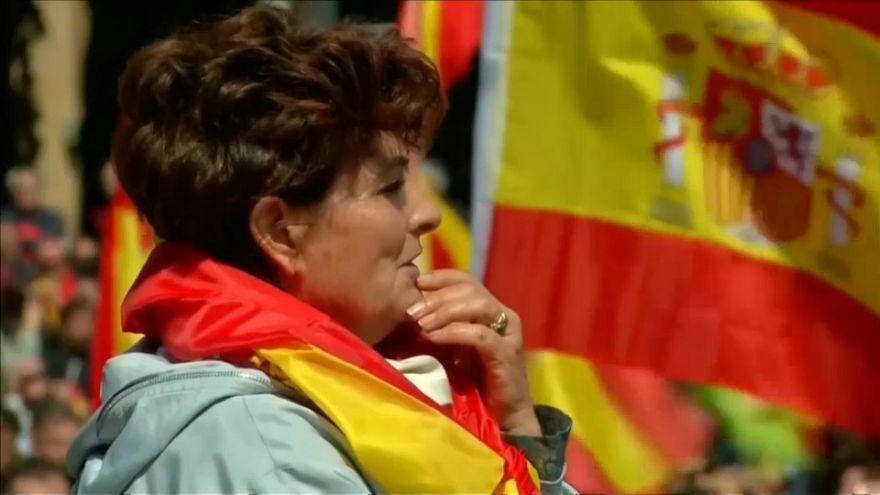 Barcelona: Separatistas contra comício do Vox