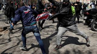 Βαρκελώνη: Επεισόδια λόγω συγκέντρωσης του Vox
