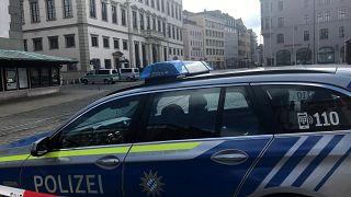 A German police car, March 26, 2019