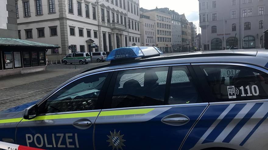 A German police car, March 26, 2019