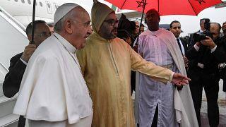 Marokkói látogatáson a pápa