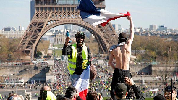 تظاهرات بیستم جلیقهزردها؛ شمار معترضان کاهش یافت