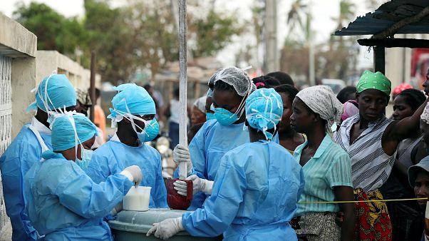 Primer muerto en Mozambique por la epidemia de cólera