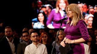 La liberal Caputova se hace con la presidencia en Eslovaquia