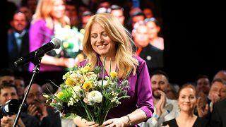 Чапутова - первая женщина-президент Словакии