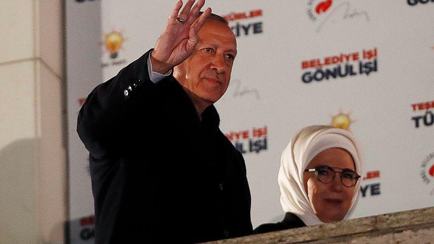Resultado da oposição nas autárquicas abala presidente turco