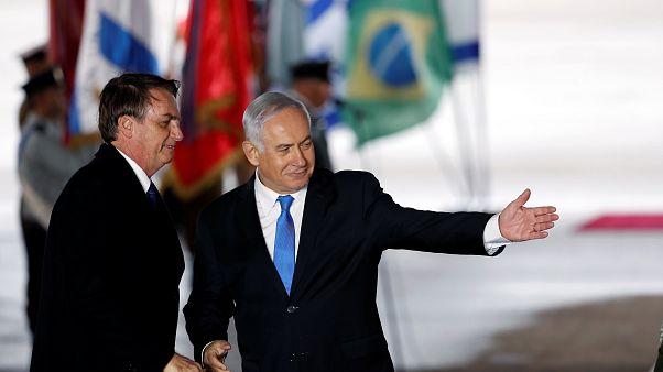 Bolsonaro in Israel: Zieht Botschaft nach Jerusalem um?