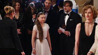 Német tévés díj Greta Thunbergnek
