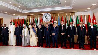 الزعماء العرب في صورة جماعية على هامش القمة