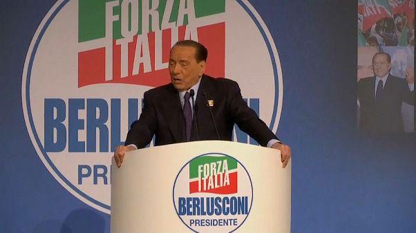 Wieder da: Berlusconi startet in Europa-Wahlkampf