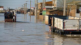 آخرین وضعیت سیل در ایران؛ یورونیوز از آققلا و گمیشان گزارش میدهد