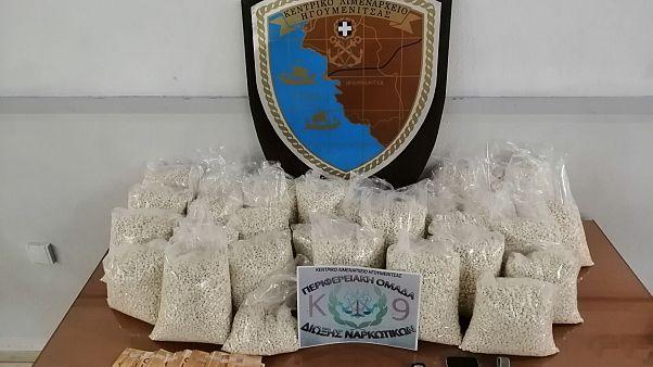 Ηγουμενίτσα: Κατασχέθηκαν «χάπια των τζιχαντιστών»