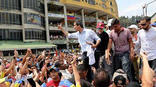 Venezuela: Guaido-Lager und Maduro-Anhänger protestieren