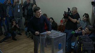 Ukraine : un comédien au second tour de la présidentielle