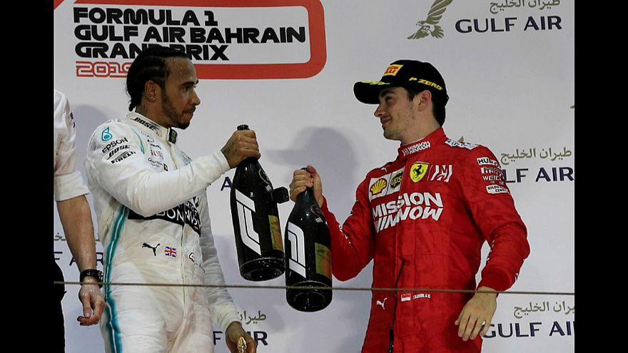 F1: Hamilton vence GP do Bahrein
