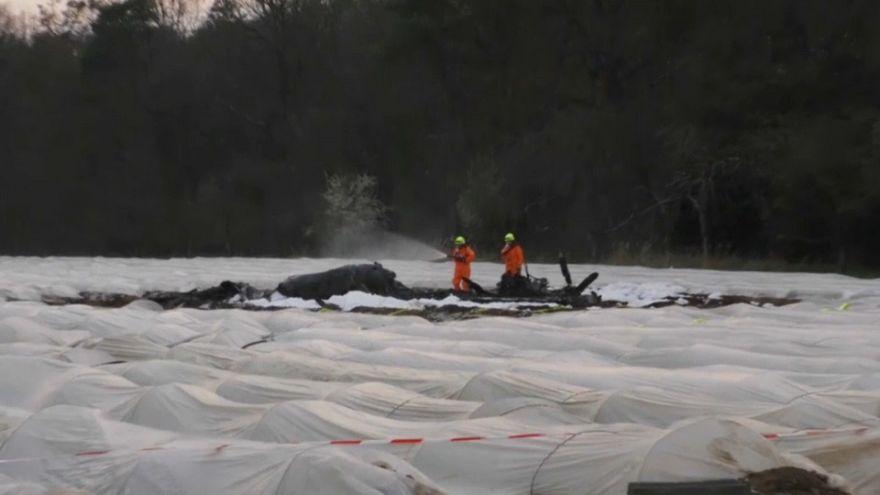 Flugabsturz bei Erzhausen: Russische Millionärin getötet