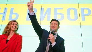 A reação dos ucranianos ao resultado das presidenciais