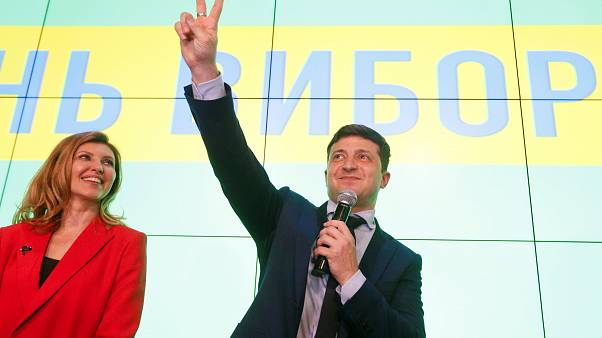 Ζελένσκι - Ποροσένκο στον δεύτερο γύρο των προεδρικών εκλογών