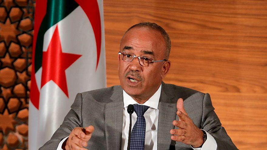 FILE PHOTO: Algeria's newly appointed prime minister, Noureddine Bedoui