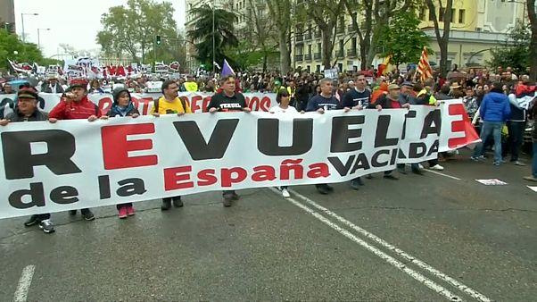 """La """"España vaciada"""": 100 escaños en juego"""