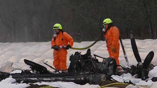 مقتل رئيسة شركة طيران روسية في تحطم طائرة كانت على متنها بألمانيا