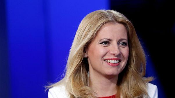 Slovakya'nın ilk kadın cumhurbaşkanı Zuzana Caputova