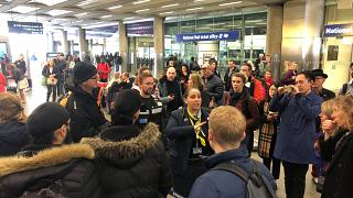 St Pancras Railway Station in London, Britain, March 30, 2019