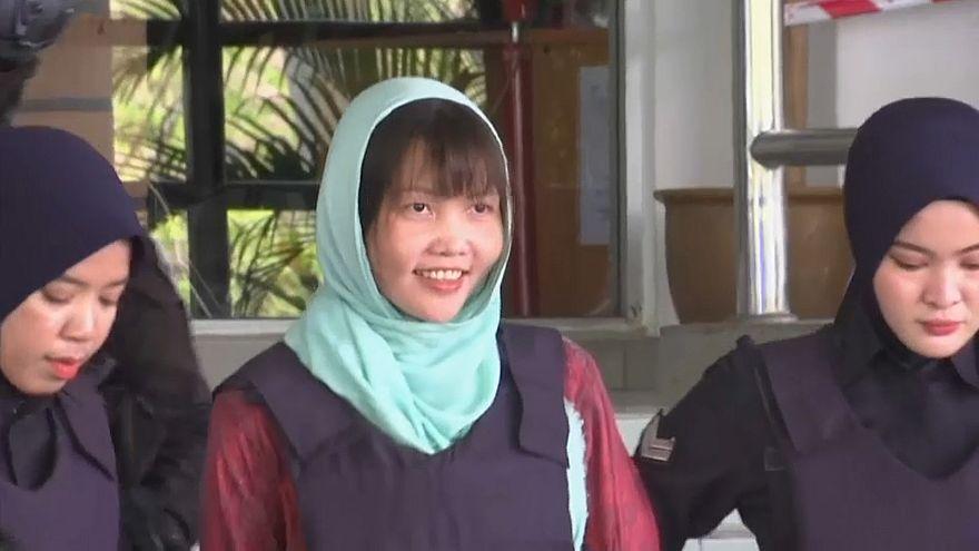Три года тюрьмы для обвиняемой по делу Ким Чен Нама