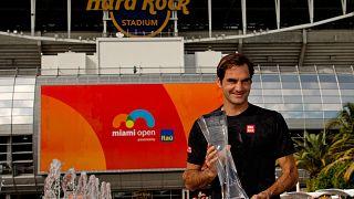 Roger Federer remporte à Miami le 101e titre de sa carrière