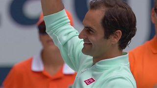 Roger Federer gewinnt in Miami