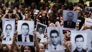 Miles de brasileños marchan contra la dictadura en el 55 aniversario del golpe de Estado