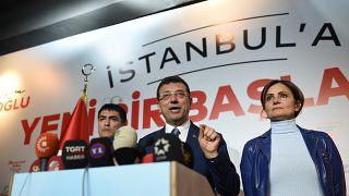 Ekrem İmamoğlu İstanbul Büyükşehir Belediye Başkanı oldu