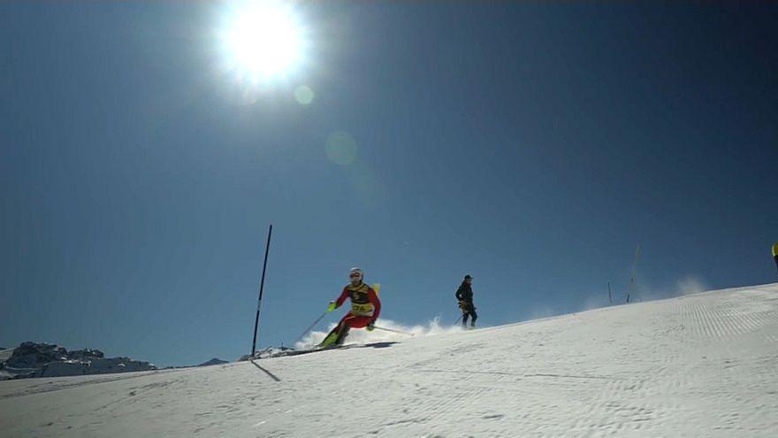 A festa do esqui com Super Slalom em La Plagne