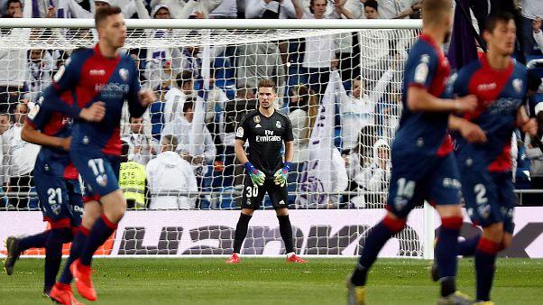 In Papas Team: Luca Zidane (20) steht bei Real im Tor