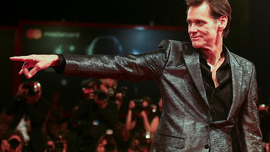 Mussolini's granddaughter hits out at Jim Carrey over cartoon of former dictator