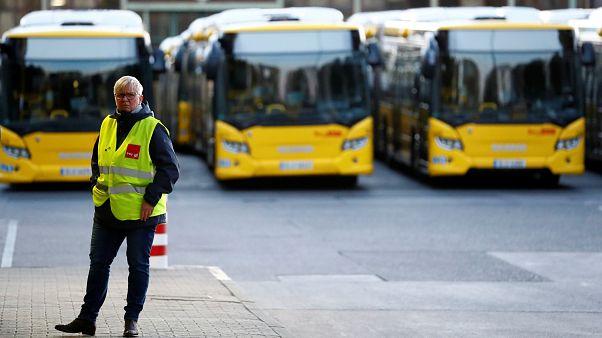 BVG-Streik in Berlin: Busse und U-Bahnen stehen still