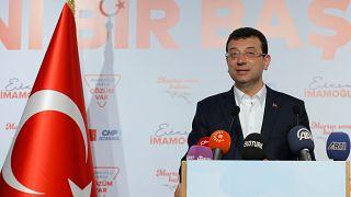 Ekrem Imamoglu CHP candidate