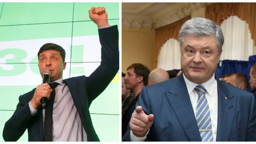 Selenski vs. Poroschenko: Wer macht das Rennen?