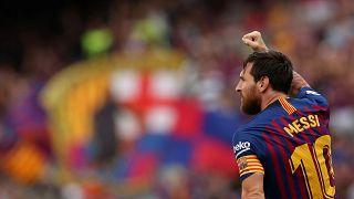 الأرجنتيني لاعب كرة القدم ليونيل ميسي