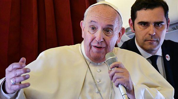 پاپ: به جای ساخت دیوار برای مقابله با پناهجویان، با بی عدالتی مبارزه کنید
