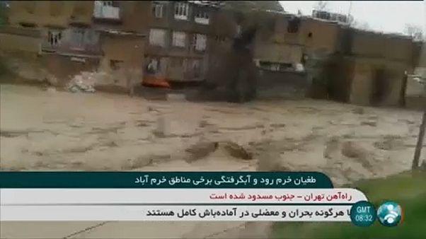 Iran: Überschwemmungen in Provinz Lorestan