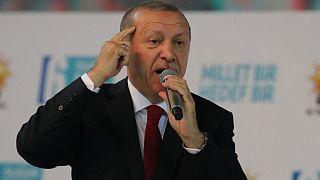 Erdogan impugnará los resultados en Estambul y Ankara