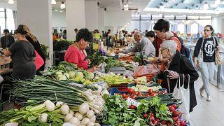 A debreceni Nagypiac 2018. május 19-én